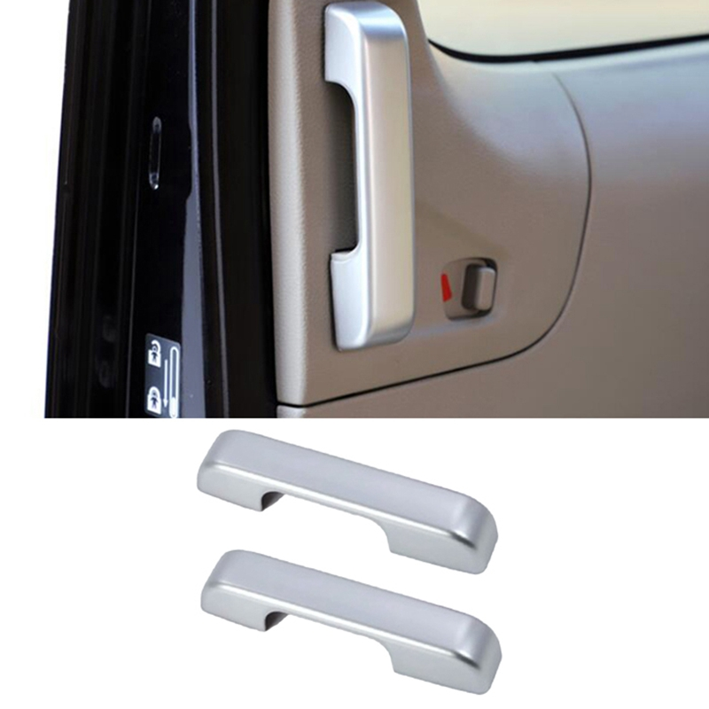 for Nissan NV200 2018 2Pcs ABS Chrome Car Door Interior Handle Bowl Protector Cover Trim Moldings Car Styling-1
