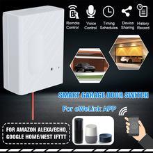 1 ensemble WiFi commutateur Smart Home Garage ouvre porte contrôleur pour eWeLink APP téléphone commande vocale pour Amazon Alexa pour Google Home