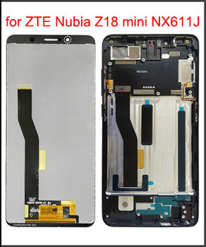 "5.7"" Original LCD Display for ZTE Nubia Z18 Mini NX611J NX611H LCD Display Touch Screen Digitizer Replacement Assembly + Frame"