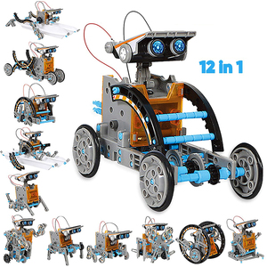 12 In1 Solar Robot Kits Technology Science Toys for Boys and Girls Intellectual Development Diye Ducational Kits for Kids