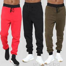 Mens Sport Trousers Sweat Pants Jogging Joggers Tracksuit Hi
