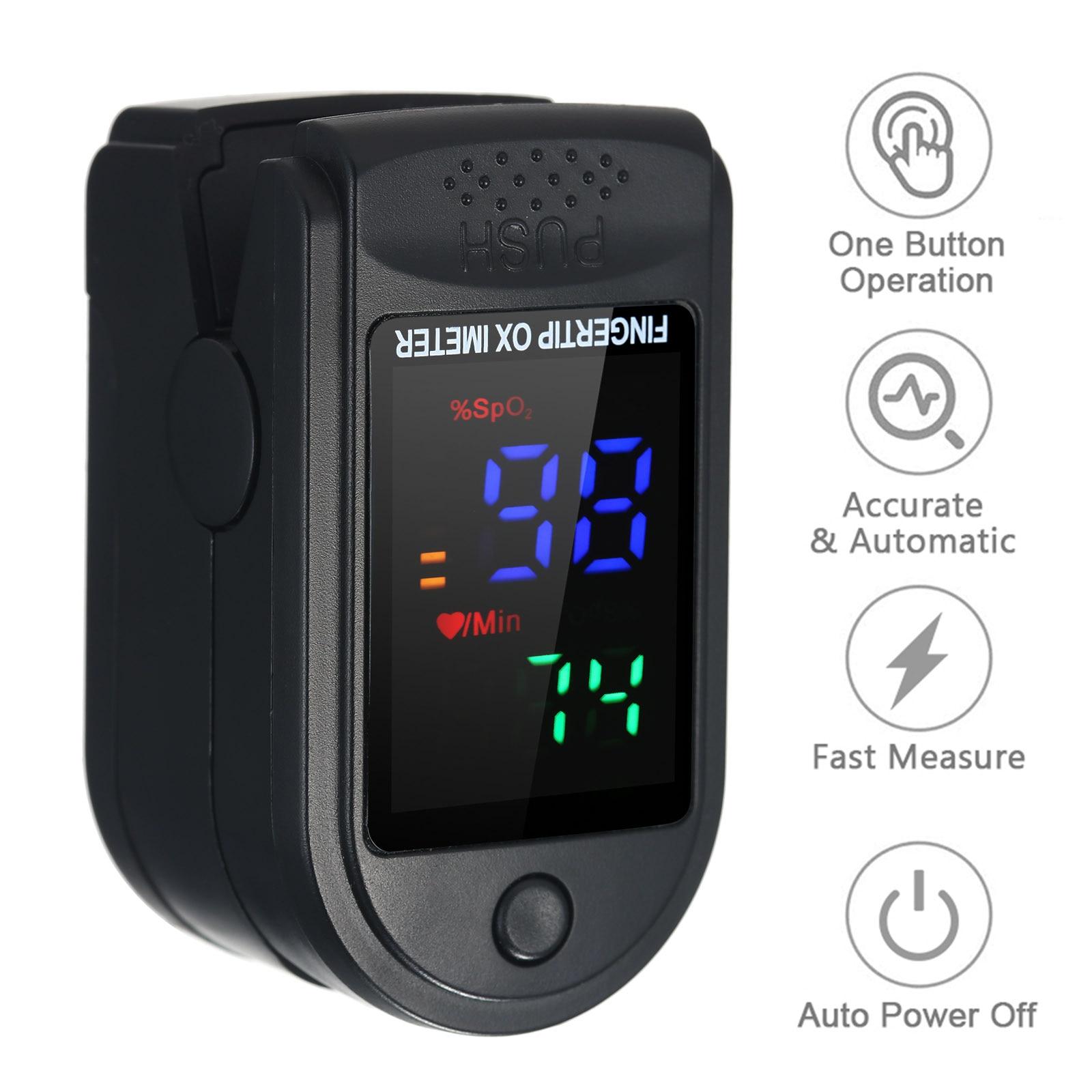 Пульса и уровня кислорода в крови палец мини SpO2 монитор насыщения кислородом монитор частоты пульса измерительный прибор устройство 5s быст...