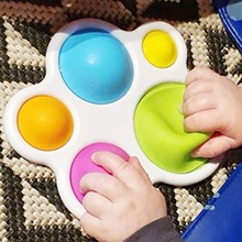 Educational Sensory Toys Infant Early Education Intelligence Development Fidget Stress Reliever Release Intensive Training Gifts