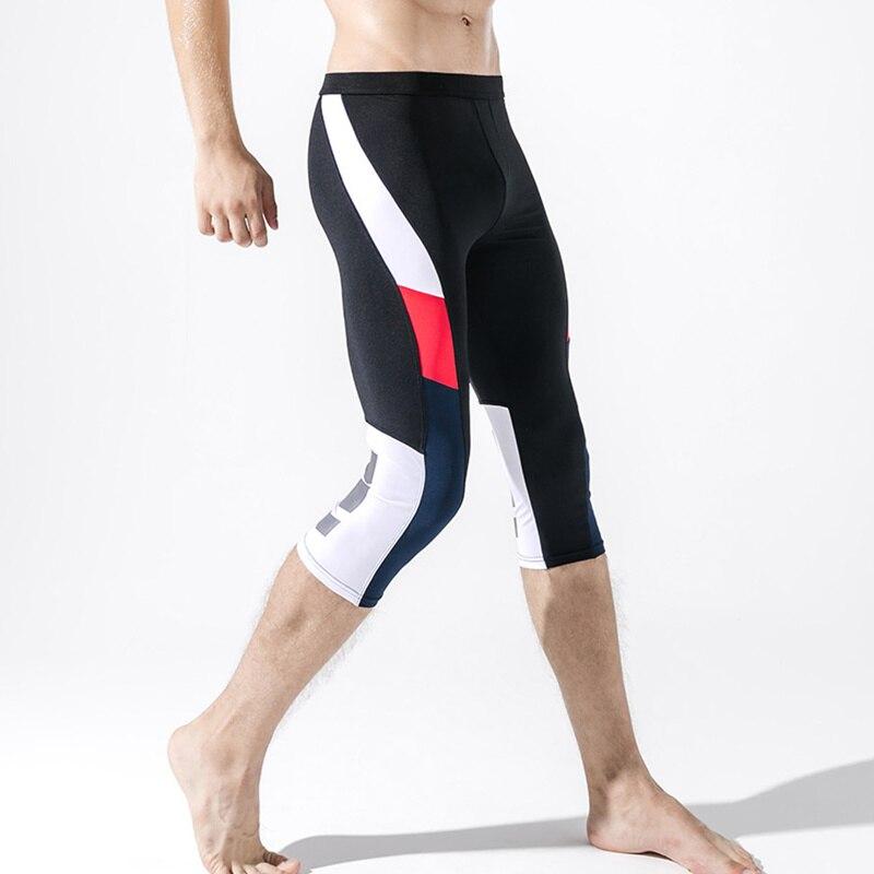 3 4 Legging Pria Kompresi Celana Lari Gym Celana Ketat Kebugaran Leggins Olahraga Celana Pendek Cepat Kering Bernapas Olahraga Long John Menjalankan Celana Ketat Aliexpress