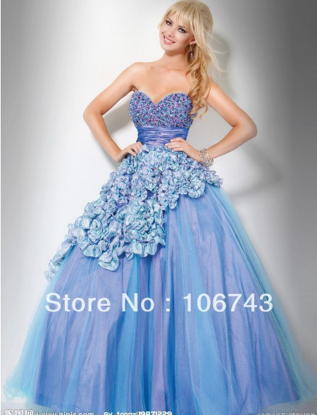 Free Shipping 2016 New Design Vestido Formal Robe De Soiree Ball Beaded Evening Gown Long Elegant Prom Quinceanera Dresses
