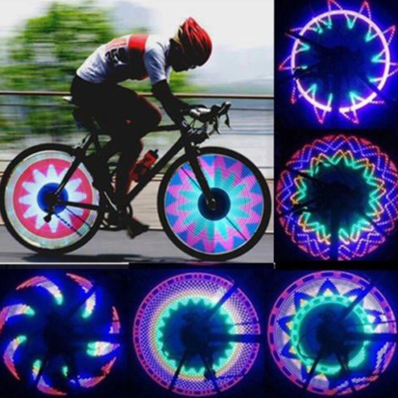 Waterproof 32-LED Bicycle Bike Riding Spoke Lights Reflective Rim Light For MTB Wheel Tire Cycling Accessorie