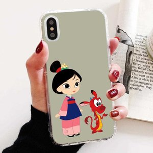 Soft TPU Silicone Case Mulan Cartoon Girl For Samsung Galaxy J1 J2 J3 J4 J5 J6 J7 J8 Plus 2018 Prime 2015 2016 2017