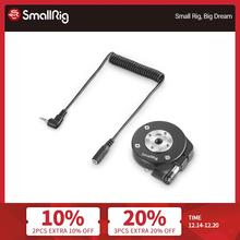 Smallrig Arri Rozet + 2.5 Mm Lanc Verlengkabel Voor Sony Fs5 Grip Adapter Met Quick Release Mount 2192