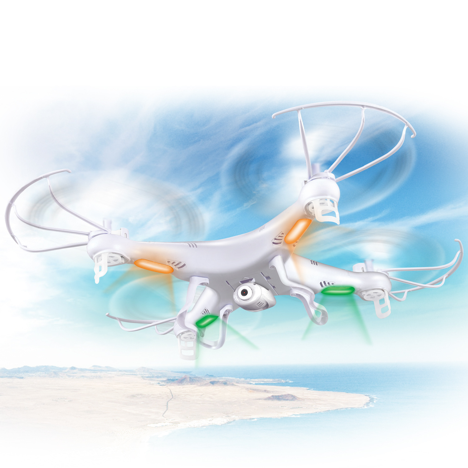 SYMA Sima Model Airplane X5/X5A Six-Axis Gyroscope Unmanned Aerial Vehicle Remote Control Helicopter Quadcopter
