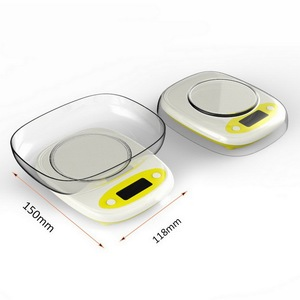 Image 5 - 7kg/3kg 0.1/1g Mini Kitchen Scale 3 Style High Precision LCD Digital Display Scale Gram Weighing Scale for Food Jewelry Measure