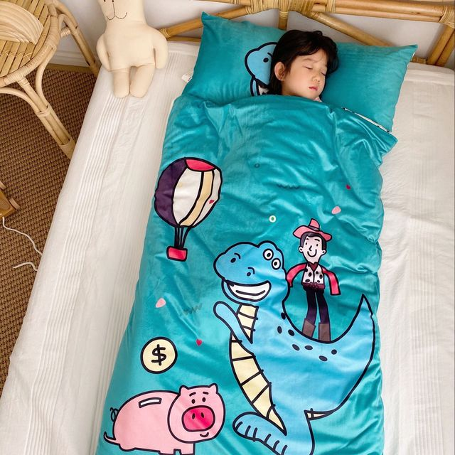 Details about  / Bed Baby Sleeping Bag 100/% Pure Cotton  Cartoon Kids Body 70*150cm 0-8 Year Old
