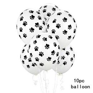 5 Stks/partij Puppy Feestartikelen Kids Birthday Ballonnen Avondfeest Decoraties Honden Verjaardagsfeestje Decoraties(China)