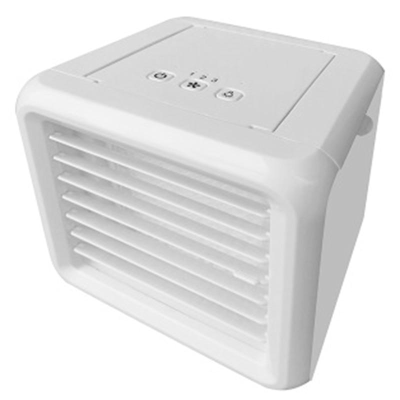 Ev Aletleri'ten Fanlar'de Mini Usb klima ev için evaporatif HAVA SOĞUTUCU Fan taşınabilir klima mobil klima title=