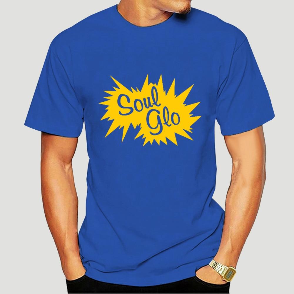 SOUL GLO Hair Gel COMING TO AMERICA 1980S RETRO Mens Tee Shirt 1421-3049A