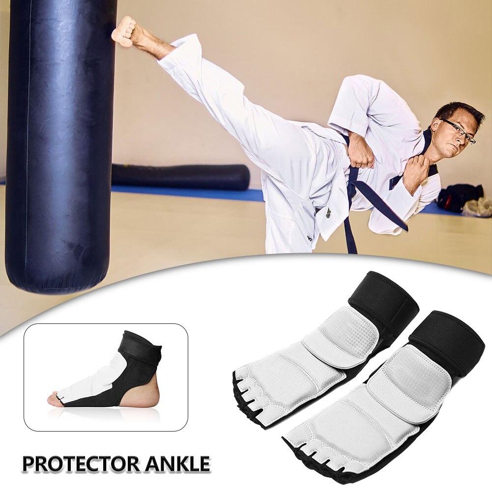 Taekwondo proteção do pé combate capa protetora