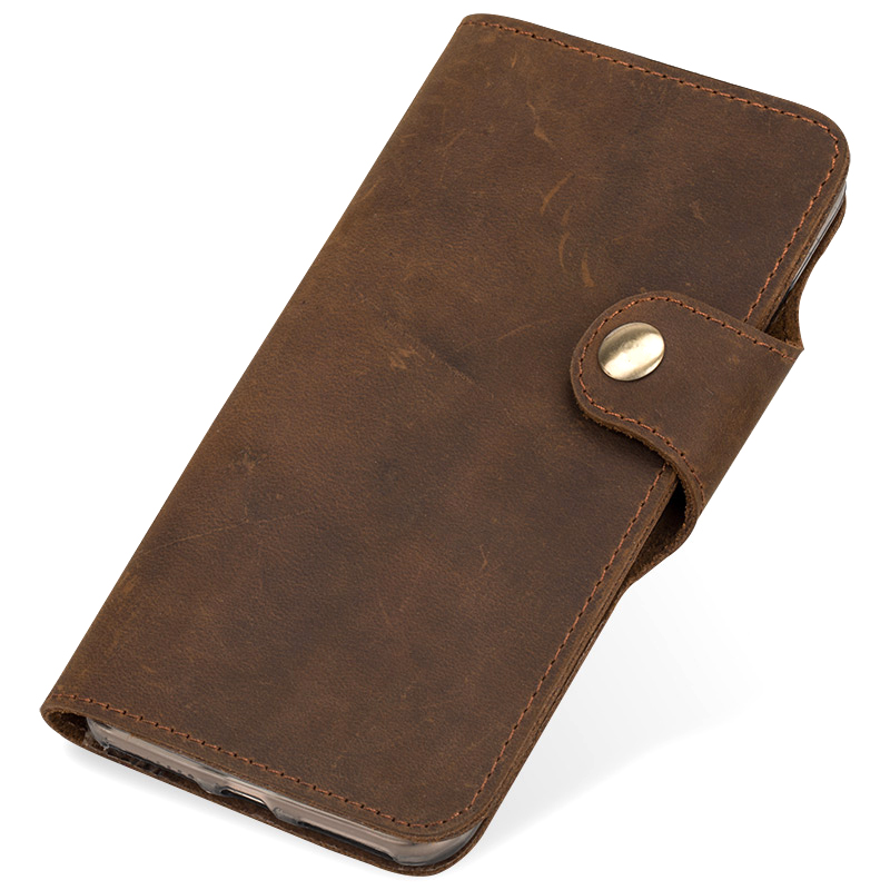 Image 2 - Phone Case For Xiaomi 5s 8 9 9T A1 A2 A3 Lite Max 3 Mix 2s 3  Natural Genuine Leather Cover For Redmi Note 4 4X 5 6A 7 7A ProFlip  Cases