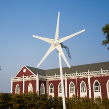 600W max wind generator 5 blades turbines, 12V/24V turbine with CE,ROHS,ISO9001+wind/solar hybrid controller