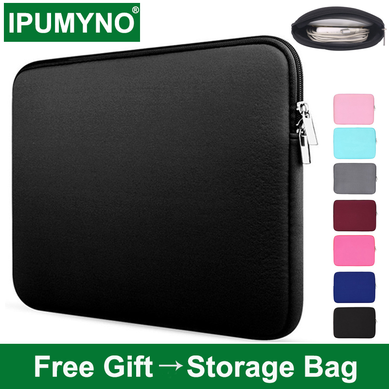 Laptop Bag Case For Macbook Air Pro 13 12 Hp Xiaomi Dell Lenovo 14 15.6 11 Notebook Laptops Computer Pc Accessories Women Sleeve