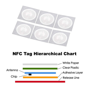Image 5 - 50pcs NFC แท็ก NFC216 ป้าย 216 สติกเกอร์ Tags ป้าย Lable สติกเกอร์ 13.56 MHz สำหรับ Huawei หุ้น ios13 ส่วนบุคคลอัตโนมัติทางลัด