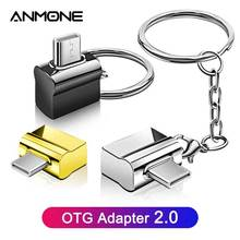 Usb-Converter Mouse Key-Chain Keyboard Otg-Adapter Otg type-C ANMONE Flash To with Metal