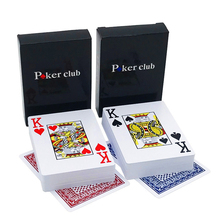 New Hot 2Sets/Lot Baccarat Texas Hold'em Plastic Playing Cards Waterproof Frosting Poker Card Board Bridge Game 58*88mm qenueson new 2sets lot pattern baccarat plastic waterproof playing card game texas hold em poker cards board games 2 28 3 46inch qenueson