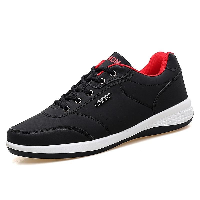 Men's Winter Sneakers PU Leather 2