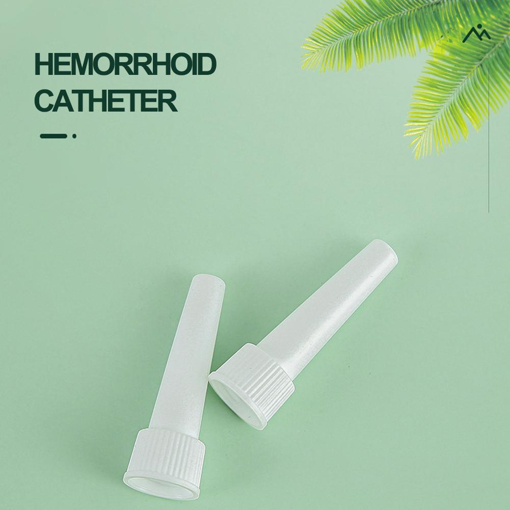 Disposable Anal Hemorrhoids Applicator Hemorrhoid Ointment Connecting Applicator Plaster Nasal Tube H6N0