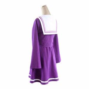 Image 2 - ไม่มีเกมNo Lifeคอสเพลย์Shiroเครื่องแต่งกายฮาโลวีนผู้หญิงเสื้อผ้าCarivalชุดวิกผมชุดกะลาสีญี่ปุ่นโรงเรียน