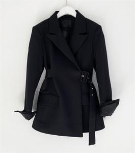 Image 5 - Colorfaith ใหม่ 2019 ฤดูใบไม้ร่วงฤดูหนาวผู้หญิงเสื้อแจ็คเก็ตสำนักงานสุภาพสตรีอย่างเป็นทางการ Outwear Elegant สีชมพูสีดำเสื้อ JK7042