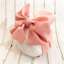 Baby Toddler Kids Girls Bow Hairband Turban Knot  Headband Headwear Newborn Girl