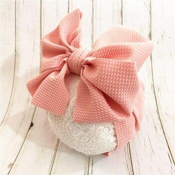 цена на Baby Toddler Kids Girls Bow Hairband Turban Knot  Headband Headwear Newborn Girl Hairband