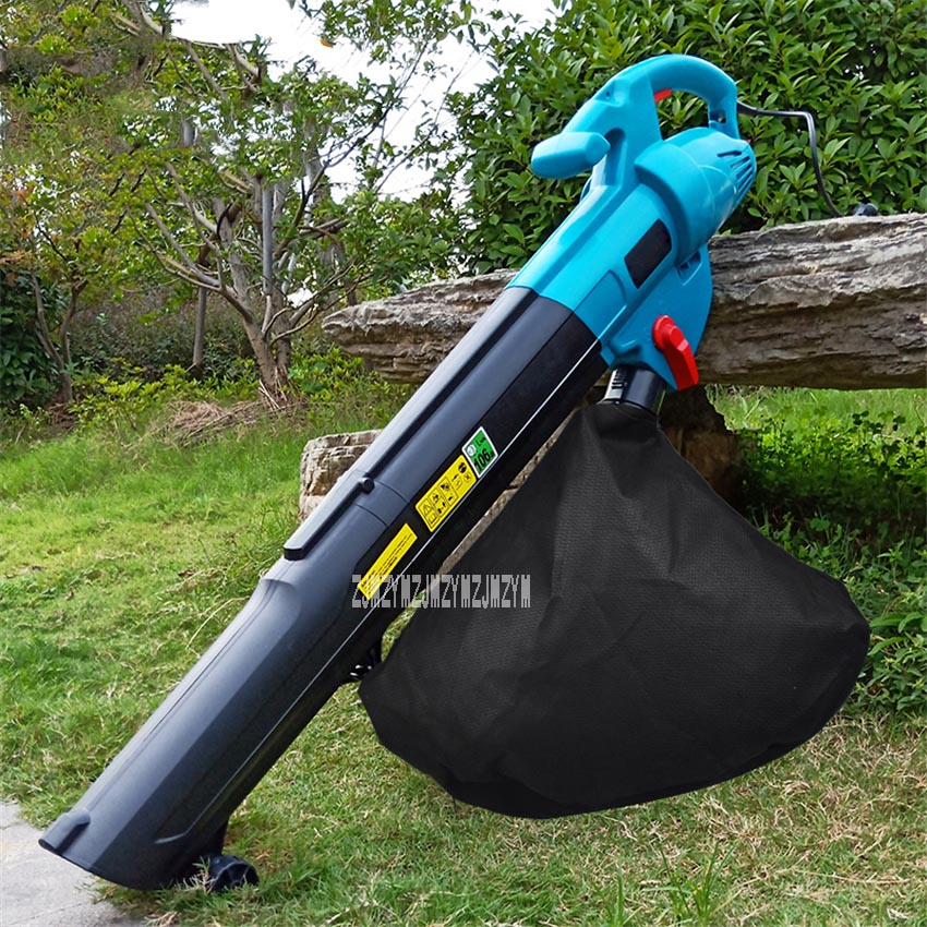 Electric Blower Tree Leaf Pulverizer Outdoor Garden Tools Blow Suction Machine High Power Blowing And Suction Machine 220V 3000W image