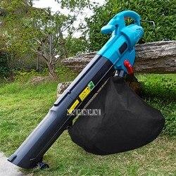 Elektrische Gebläse Baum Blatt Pulverisierer Outdoor Garten Werkzeuge Schlag Saug Maschine High Power Blasen Und Saug Maschine 220V 3000W