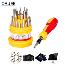 31-In-1 Screwdriver-Set Precision-Phone Torx Computer-Camera Slotted-Phillips Oauee