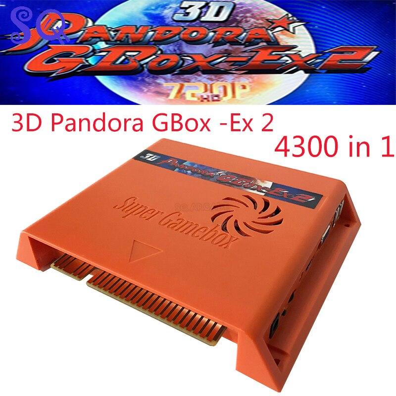 Новейшая игровая 3d-приставка 3006 4300 в 1 VGA HDMI аркадная печатная плата мультиигровая доска pandora Jamma аркадная доска с проводкой для машины арадор...