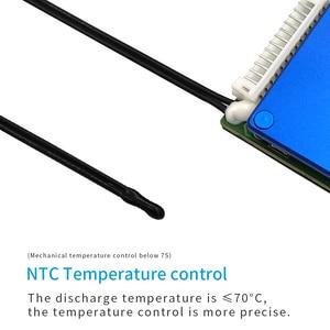 Image 3 - 17S 60V 3.7V placa de proteção da bateria de lítio BMS proteção de sobrecorrente de equalização de temperatura PCB 70A 100A 130A