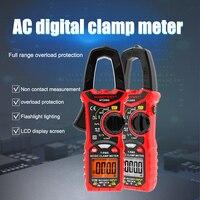 AC Direkt Aktuelle Digitale Clamp Meter Spannung Multimeter Widerstand Test Werkzeug HT206D FKU66