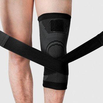 Sportowe kompresyjne ochraniacze na kolana pasek ochraniacze na kolana antypoślizgowe oddychające ochraniacze na kolana nylonowe 3D kompresyjne ochraniacze na kolana tanie i dobre opinie HEROBIKER CN (pochodzenie) knee pads
