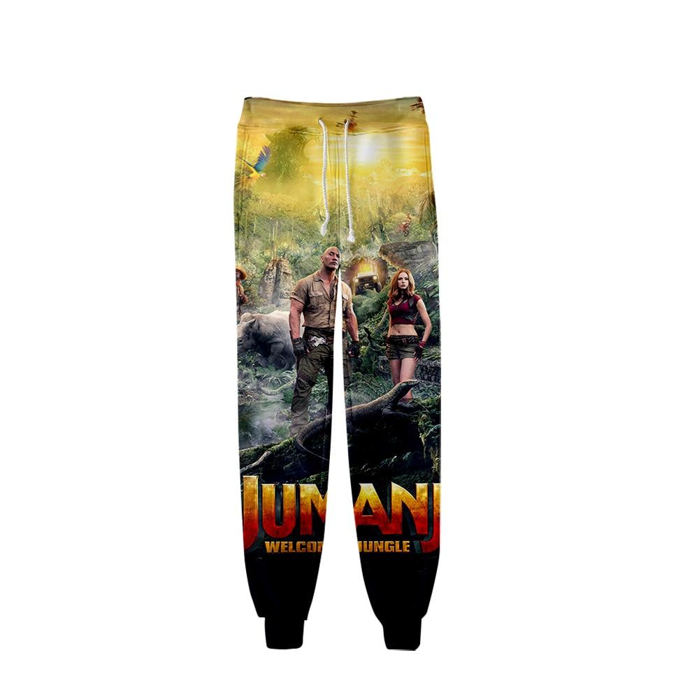 2019 Jumanji Pants Men Hip Hop Pant Trousers Kpop Fashion Casual High Quality Casual Slim Jumanji Pants For Men Streetwear
