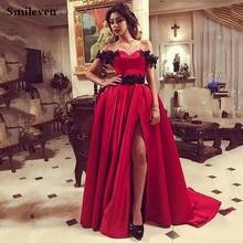 Красные вечерние платья smileven с вырезом сердечком пикантные