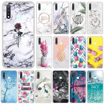 Soft Silicone Case For vivo Y19 4G U3 Y5S Cover For vivoY19 Y 19 vivoU3 U 3 vivoY5S Y 5S 6.53 Phone Cases TPU Coque Funda Shell image