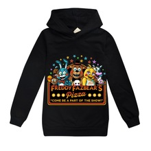 Boy Fnaf Tshirt Freddy's Long-Sleeves Five-Nights Children Cotton At New