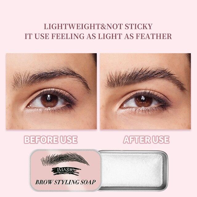 IMAGIC Eyebrow Shaped Gel Natural Molding Three-Dimensional Eyebrow Cream Eyebrow Set Gel Fixed Makeup Eyebrows Makeup 3