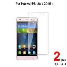 Para huawei p8 lite 5.0 polegada 2015 premium 2.5d 0.26mm protetor de tela de vidro temperado para huawei p8 lite vidro de proteção