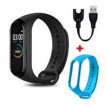 M4 Smart Wristband Smartband Waterproof Blood Pressure Heart Rate Monitor Fitness Tracker Smart Bracelet M4 Band Smart Watches