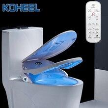 Kotalon siège de toilette Intelligent, housse de toilette, avec affichage de tempérament, électrique, à distance, nettoyeur de Bidet, chauffant
