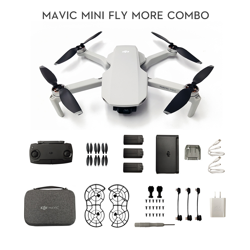 DJI Mavic Mini Fly More Combo MT1SS5 Portable Drone Maximum 30 Minutes Flight Time HD Video original brand new in stock|Camera Drones| - AliExpress