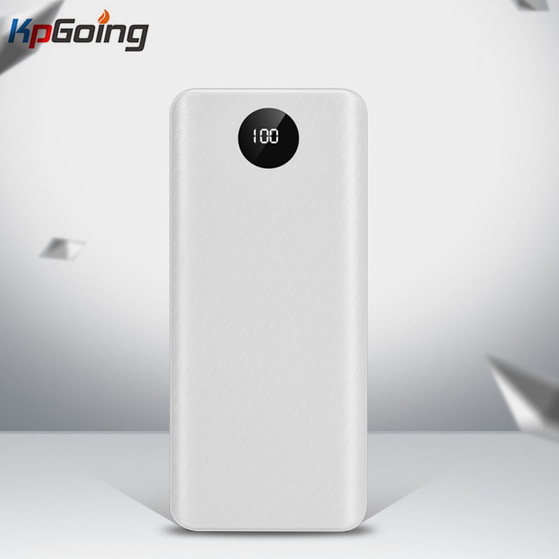 QC 3.0 Fast Charging USB Power Bank Battery Charger Box LED Digital Display Light 8*18650 Battery Charger Box For Huawei Iphone