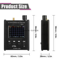 N1201SA Antenna Analysis and Measurement Instrument Standing Wave Meter Talent Tester 137.5M 2.7G Cross border