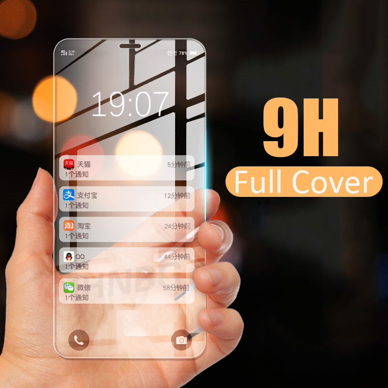 Full Cover Glass on the For iPhone 7 8 Plus 6 6s 5 5s SE 2020 Tempered Glass For iPhone X Xr 11 Pro Xs Max Screen Protector